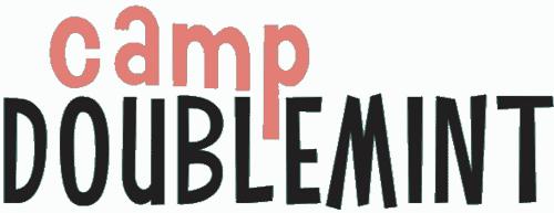 camp doublemint logo